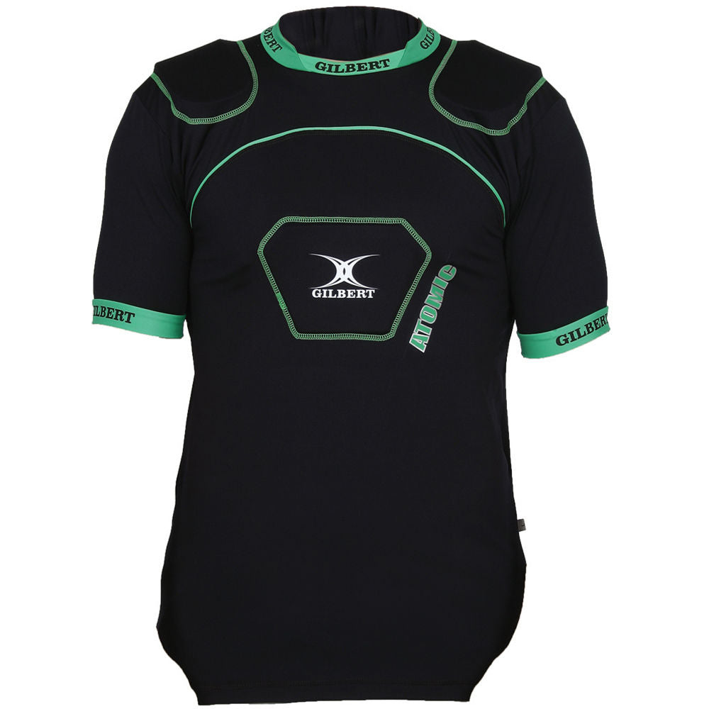 GILBERT | ATOMIC V2 SHOULDER GEAR BLACK/GREEN