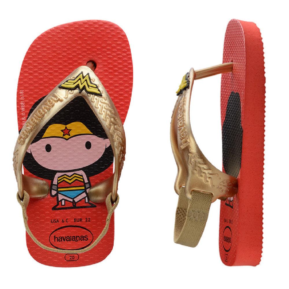 HAVAIANAS | INFANT BABY NEW HEROIS (WONDER WOMAN)