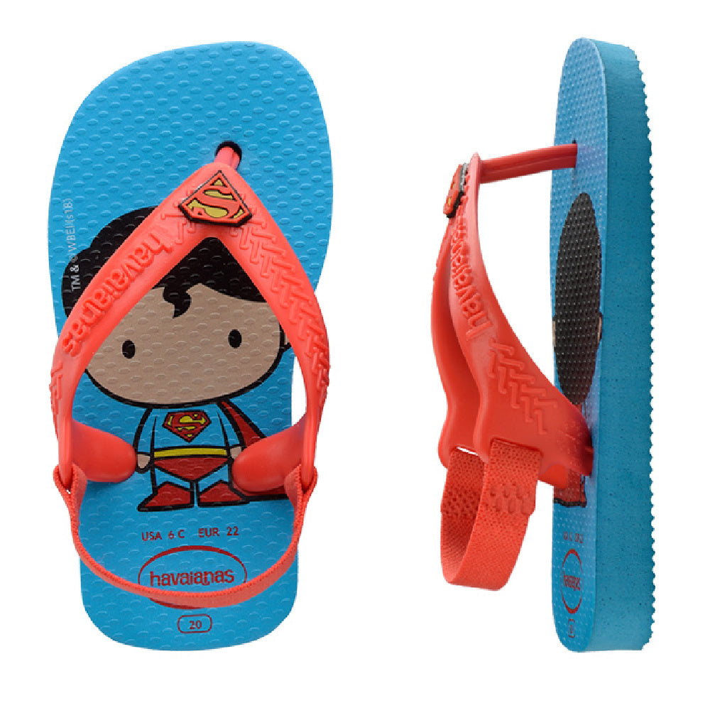 HAVAIANAS | INFANT BABY NEW HEROIS (SUPERMAN)