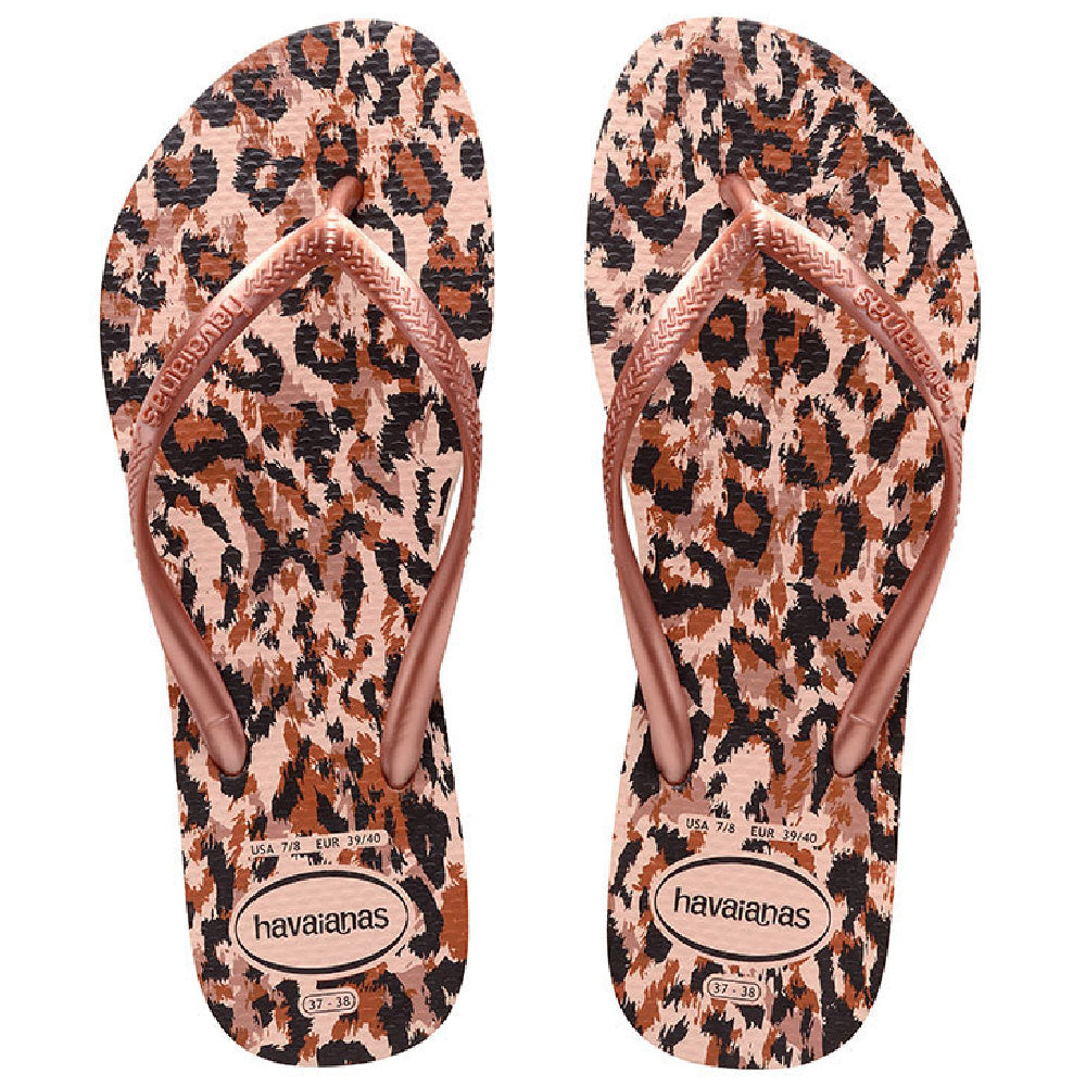 HAVAIANAS | TODDLER SLIM ANIMALS BALLET ROSE
