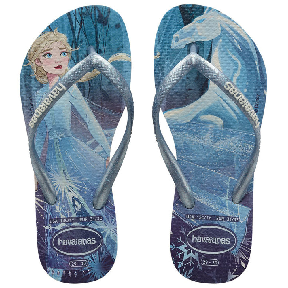 HAVAIANAS | KIDS SLIM FROZEN SNOW FLAKES