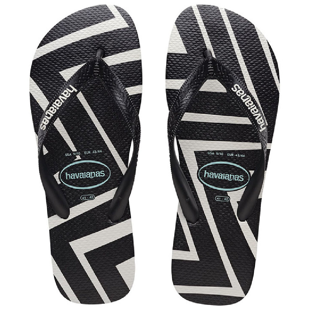 HAVAIANAS | TODDLER TOP ZIG ZAG BLACK