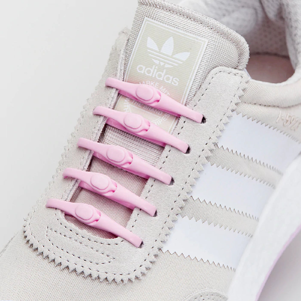 HICKIES | 2.0 NO-TIE LACES SOFT PINK