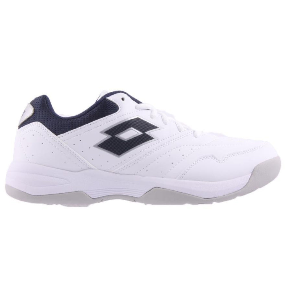 LOTTO | MENS COURT LOGO XVIII WHITE/NAVY