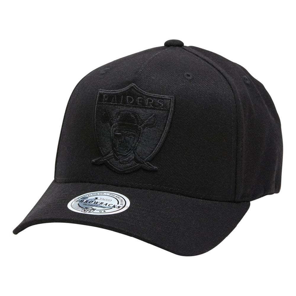 MITCHELL & NESS | MENS OAKLAND RAIDERS 110 SNAPBACK BLACK