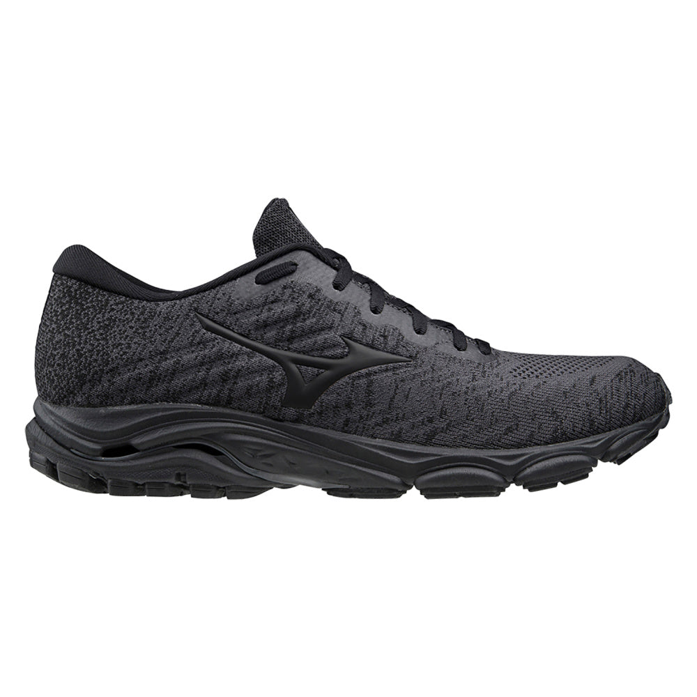 MIZUNO | MENS WAVE INSPIRE WAVEKNIT 16 DARK SHADOW/BLACK