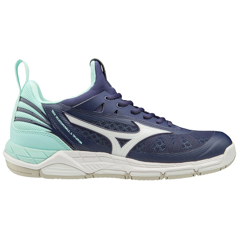 MIZUNO | WOMENS WAVE LUMINOUS NB NAVY