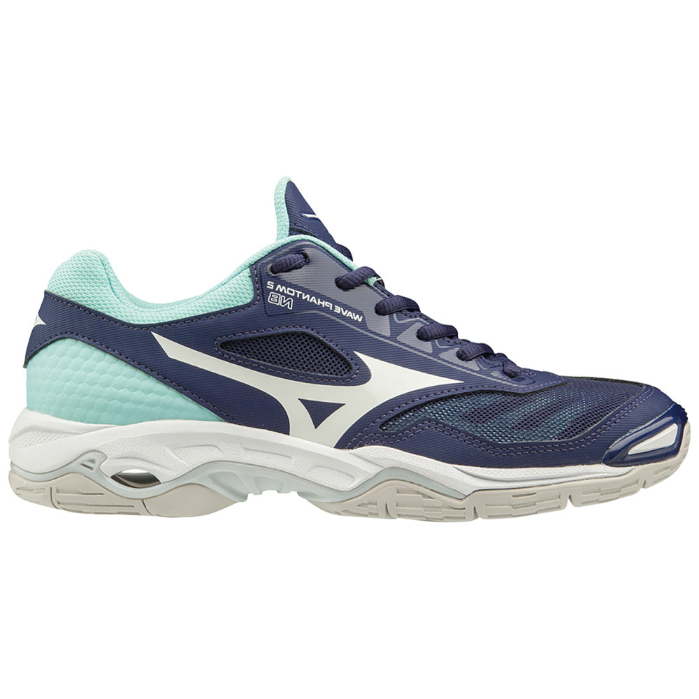 MIZUNO | WOMENS WAVE PHANTOM 2 NB NAVY