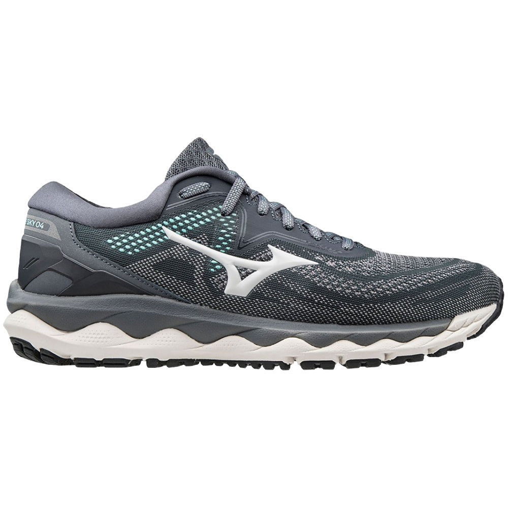 MIZUNO | WOMENS WAVE SKY 4 (GREY)