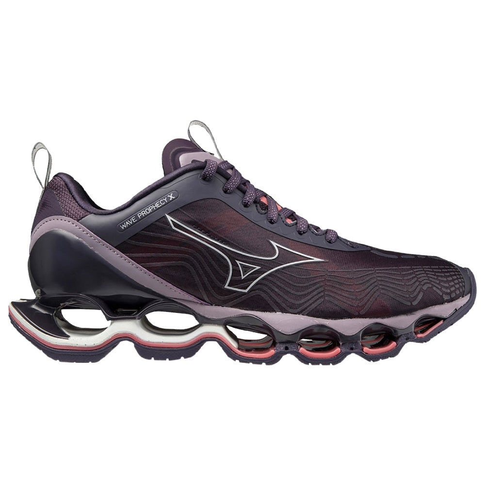 MIZUNO | WOMENS WAVE PROPHECY X (NIGHTSHADE)