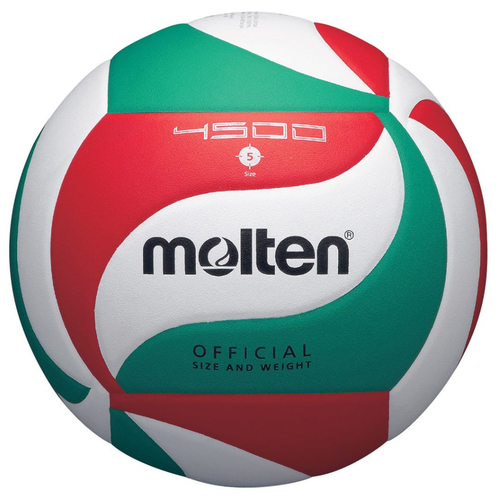 MOLTEN | V5M4500 ULTRA TOUCH COMP LEATHER VOLLYBALL WHITE