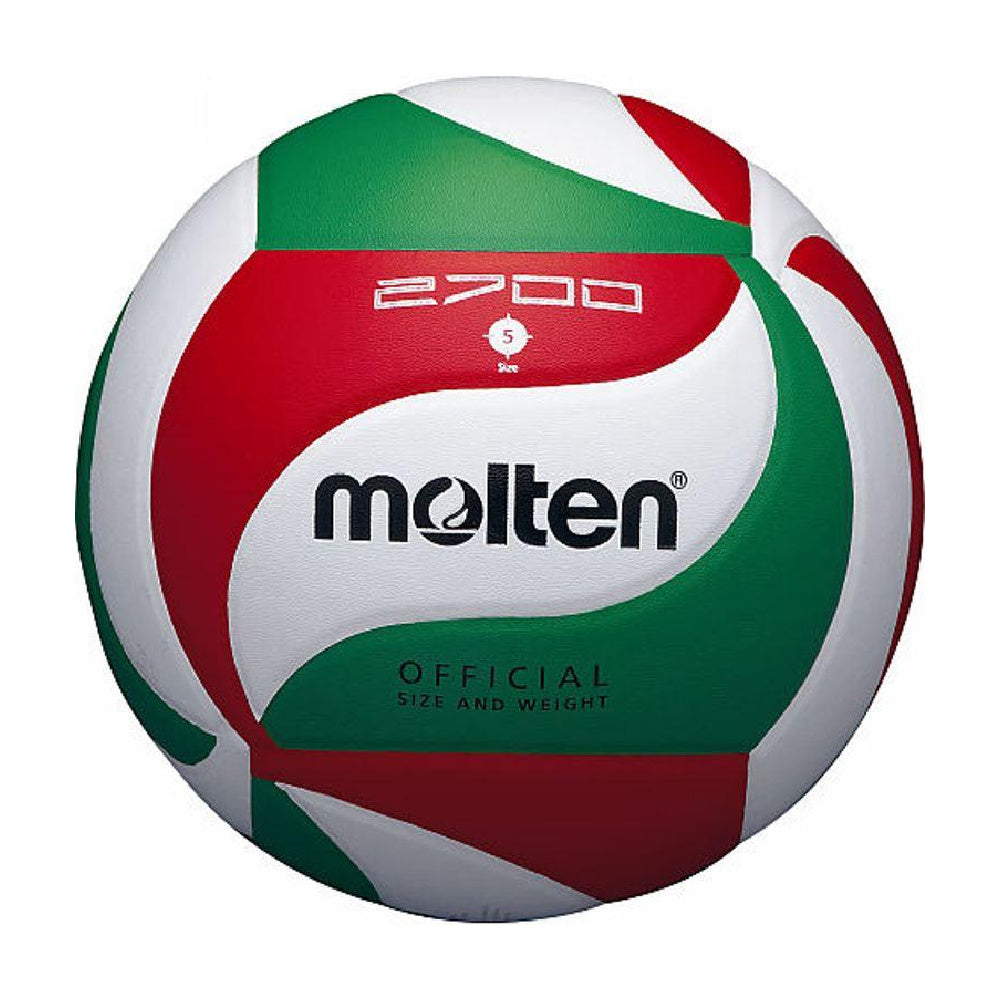MOLTEN | V5M2700 PVC LEATHER VOLLYBALL WHITE