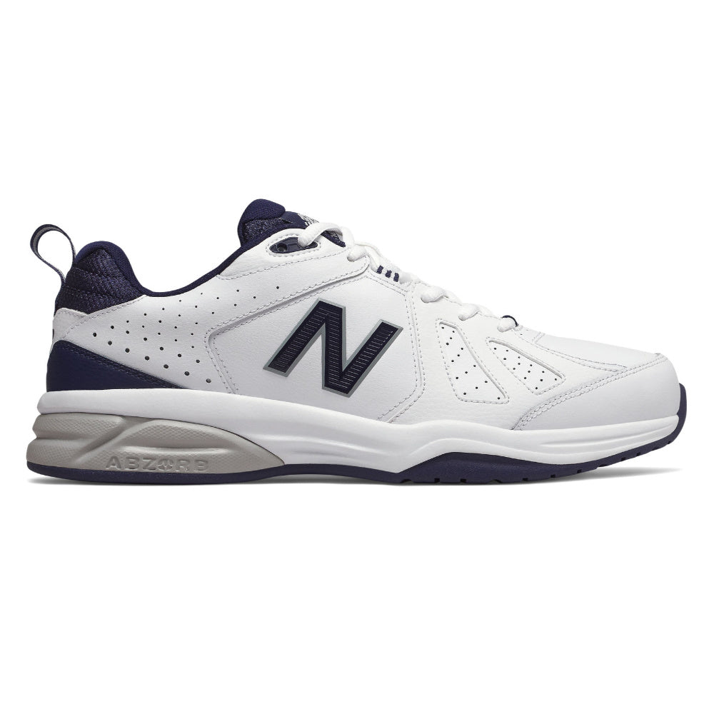 NEW BALANCE | MENS MX624WN5 4E (WHITE/NAVY)