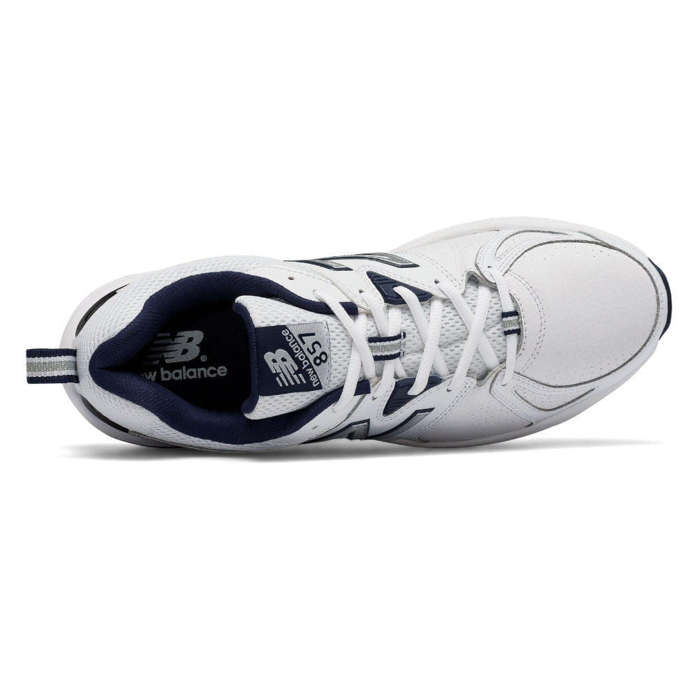 NEW BALANCE | MENS 857V2 2E (WHITE/NAVY)