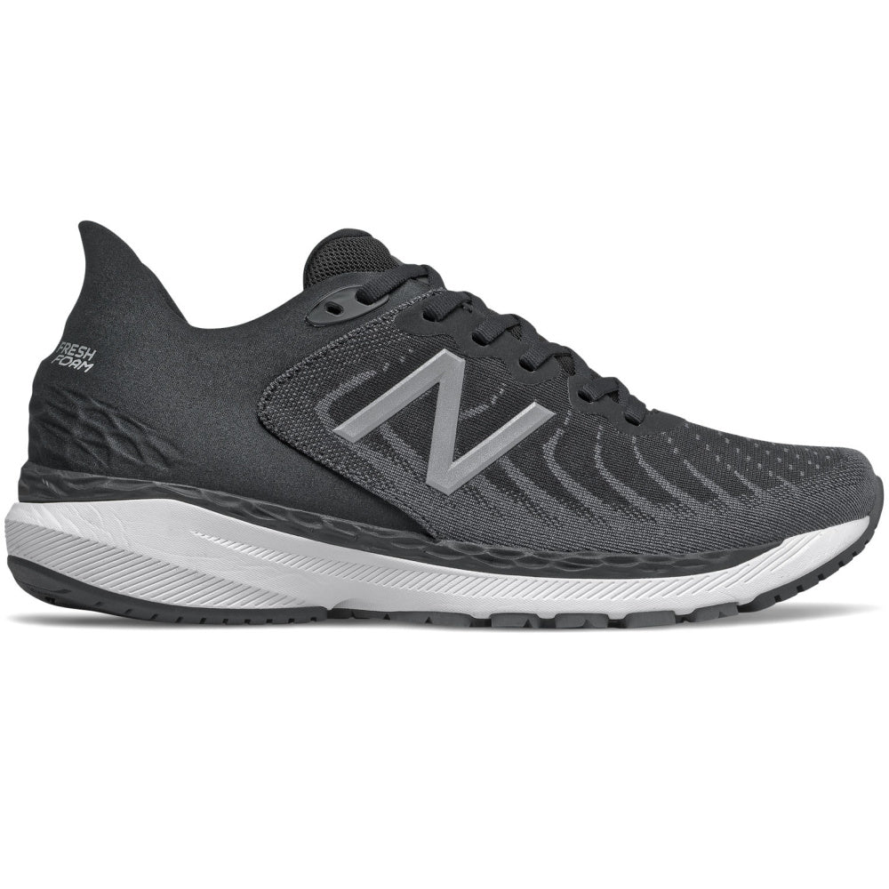 NEW BALANCE | MENS FRESH FOAM 860V11 4E BLACK/WHITE
