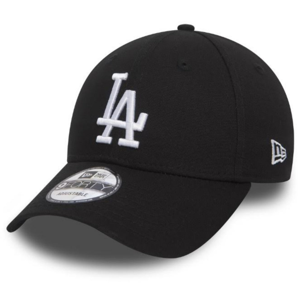 NEW ERA | MENS LOS ANGELES DODGERS ADJUSTABLE 9FORTY (BLACK/WHITE)