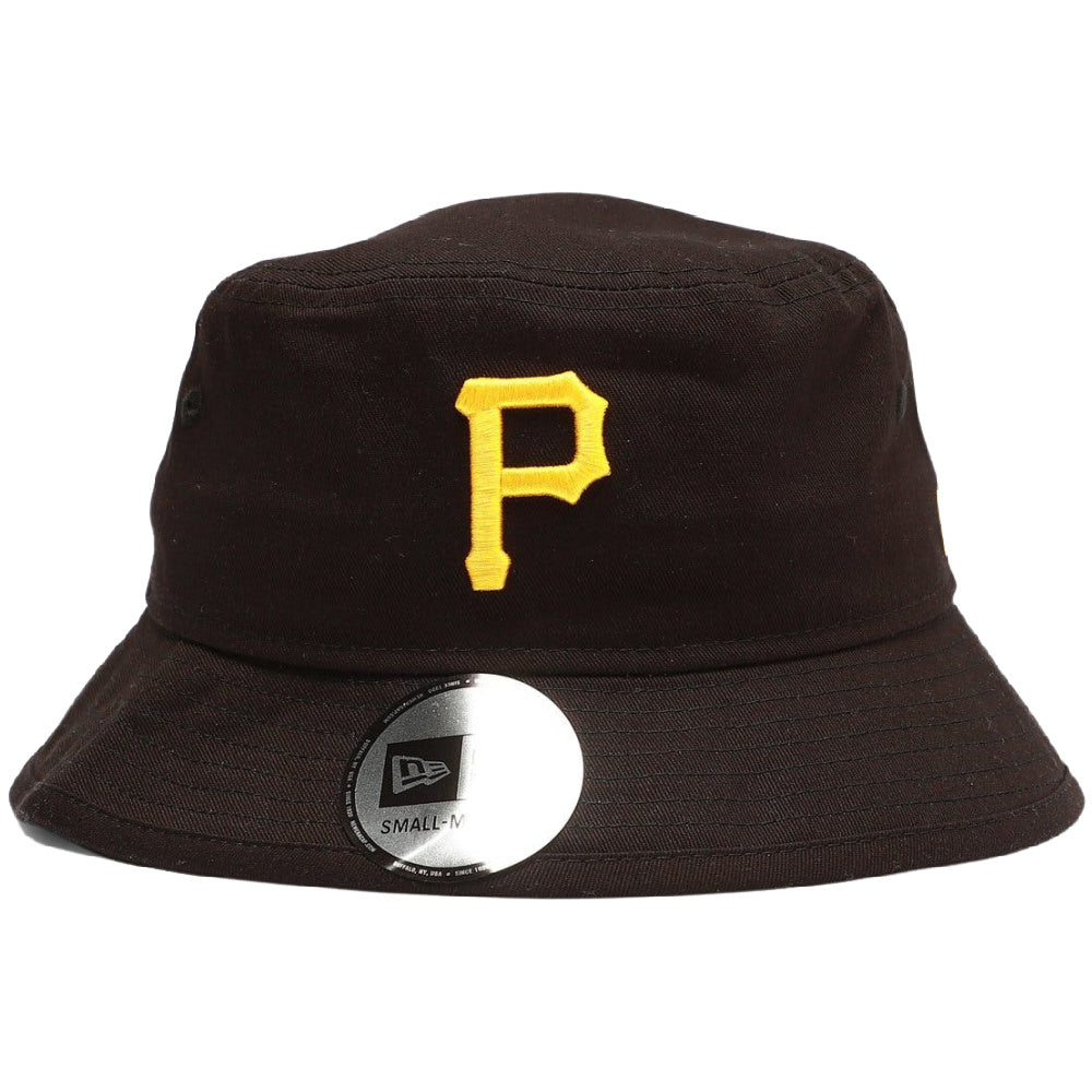 NEW ERA | UNISEX PITTSBURGH PIRATES BUCKET HAT (BLACK)