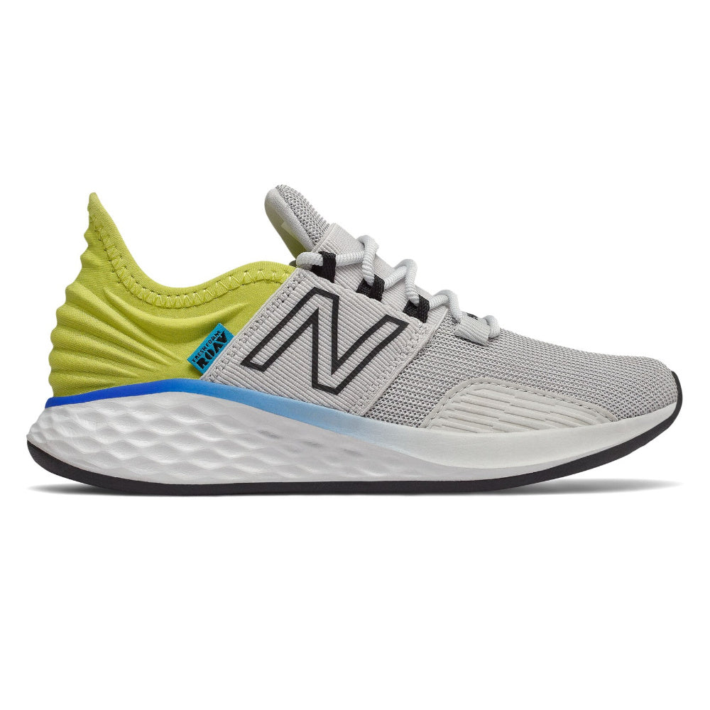 NEW BALANCE | KIDS FRESH FOAM ROAV WHITE/YELLOW/BLUE