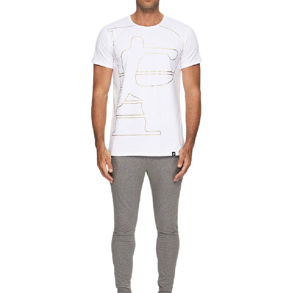 PRIZE FIGHTER | MENS KNOCKOUT TEE WHITE
