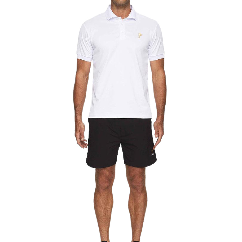 PRIZE FIGHTER | MENS POLO WHITE