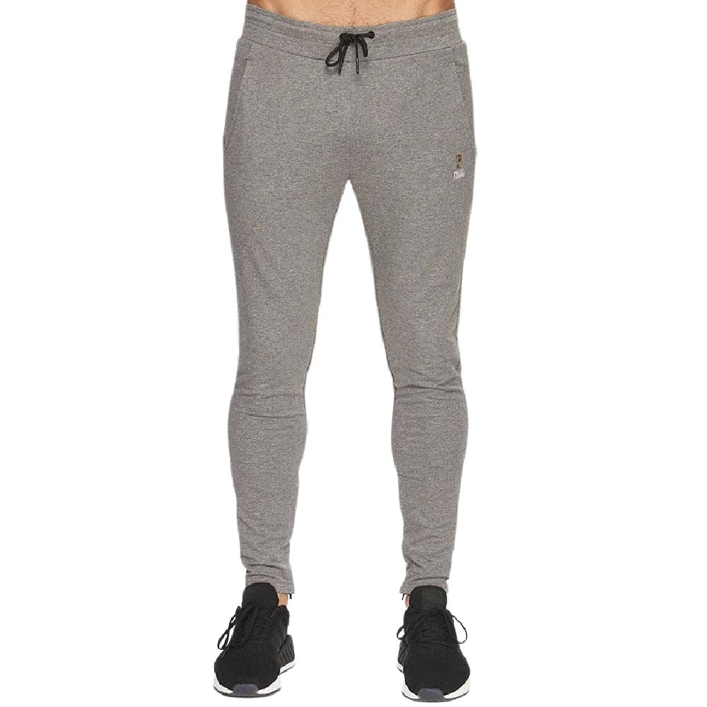 PRIZE FIGHTER | MENS SKINNY JOGGERS TRACK PANT GREY