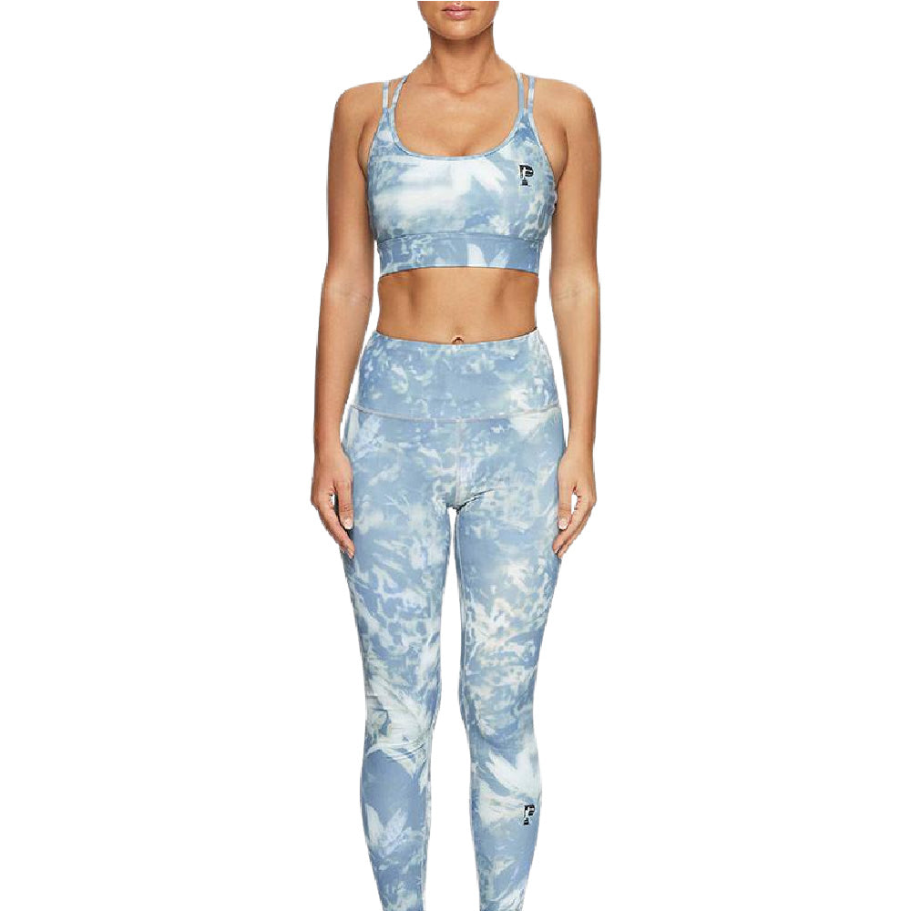PRIZE FIGHTER | WOMENS ARCTIC SPORTS BRA ARCTIC BLUE