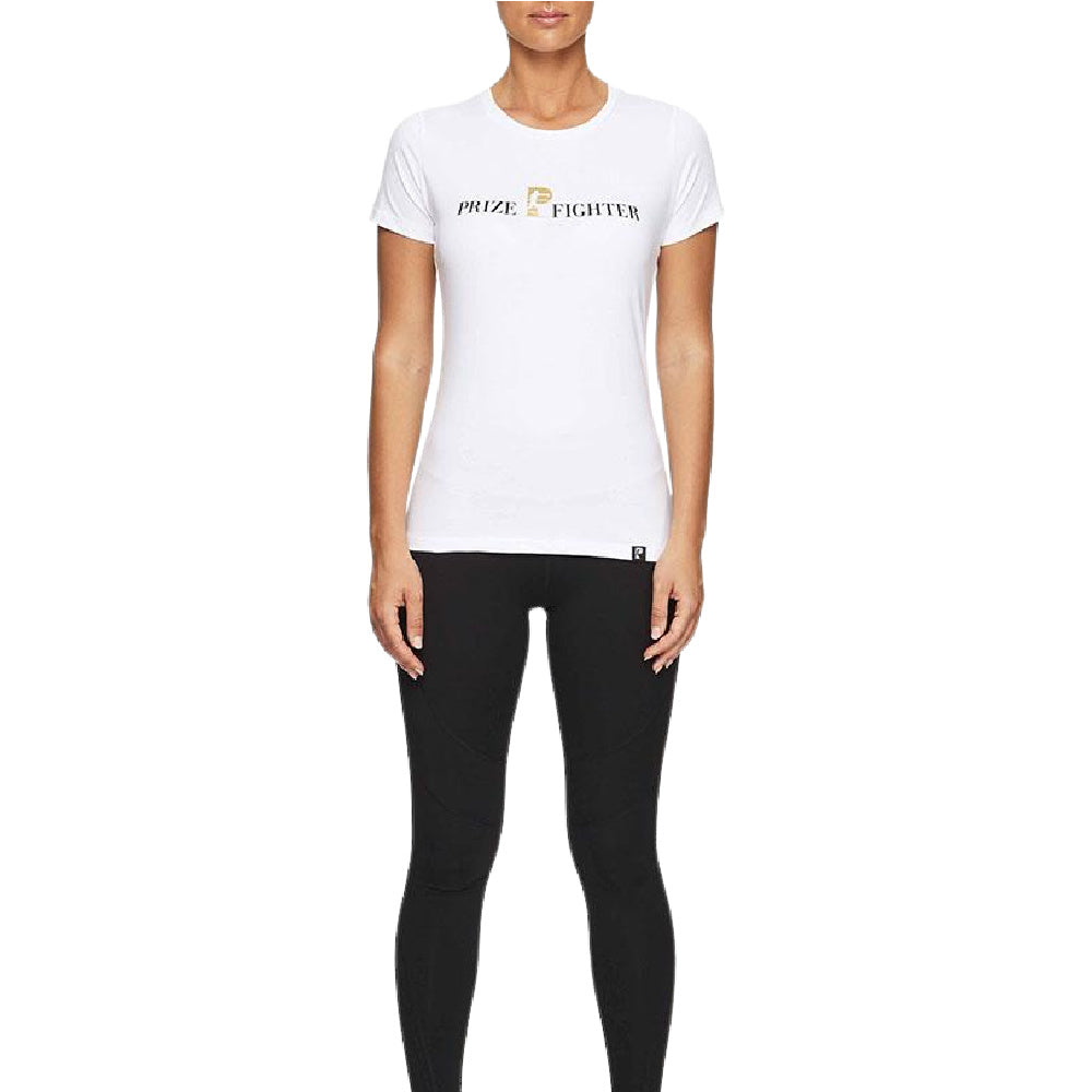 PRIZE FIGHTER | WOMENS CLASSIC TEE WHITE