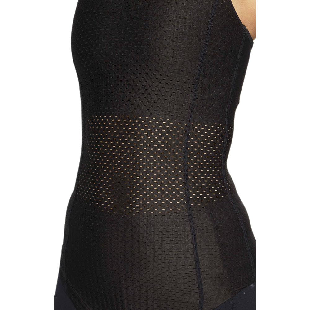 PRIZE FIGHTER | WOMENS COMPRESSION SINGLET BLACK