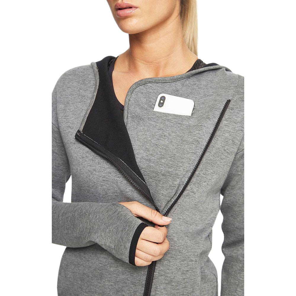 PRIZE FIGHTER | WOMENS JACKET GREY