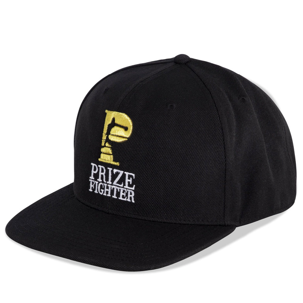 PRIZE FIGHTER | UNISEX 6 PANEL SNAPBACK BLACK