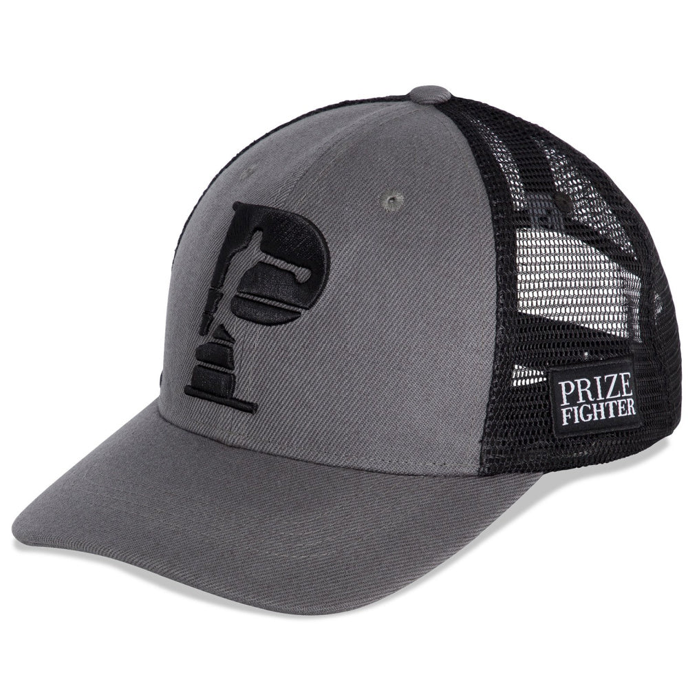 PRIZE FIGHTER | UNISEX TRUCKER CAP GREY