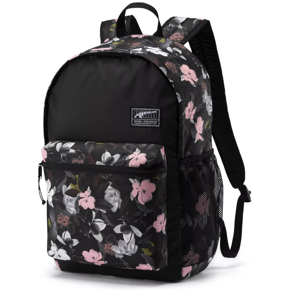 PUMA | ACADEMY BACKPACK BLACK/FLORAL