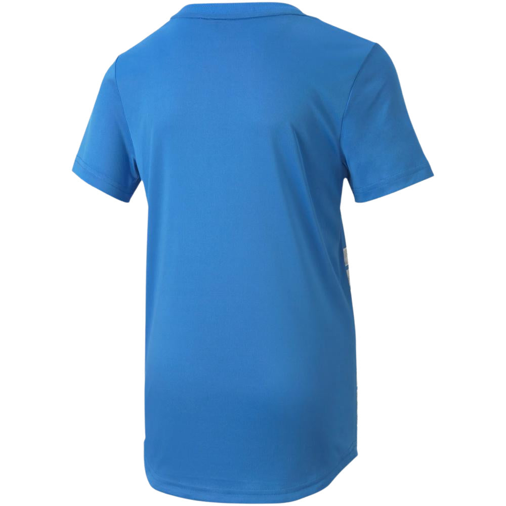 PUMA | BOYS ACTIVE SPORTS GRAPHIC POLY TEE BLUE