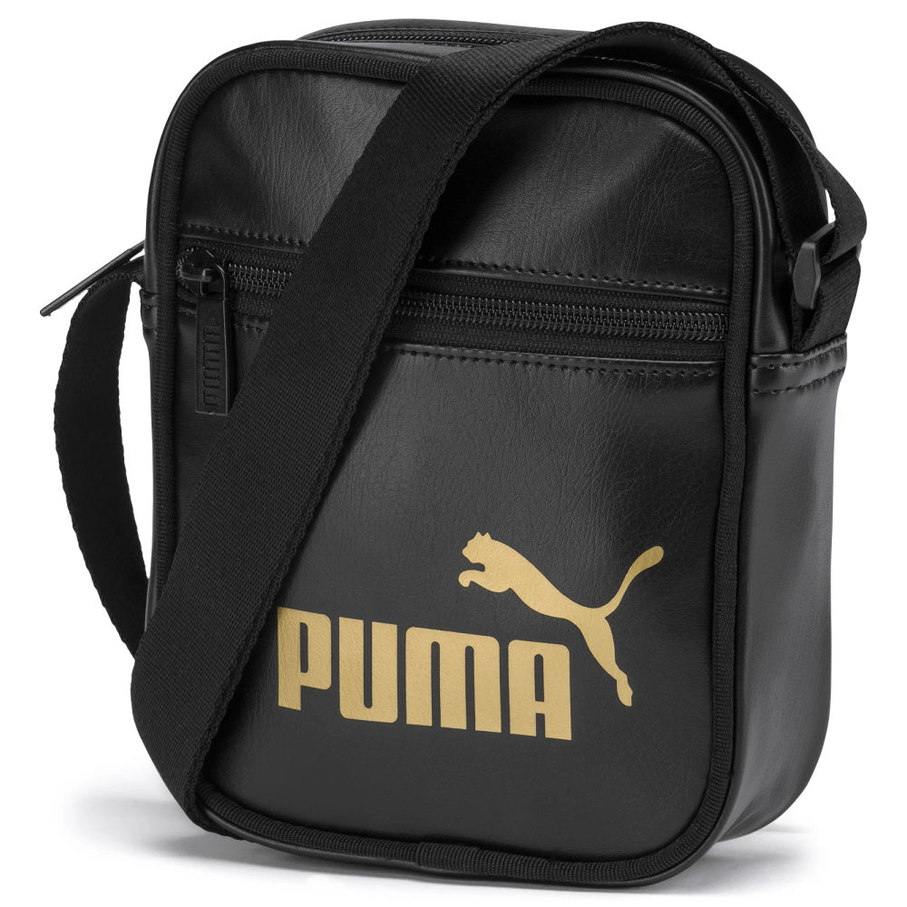 PUMA | CORE UP PORTABLE SIDE BAG BLACK/GOLD