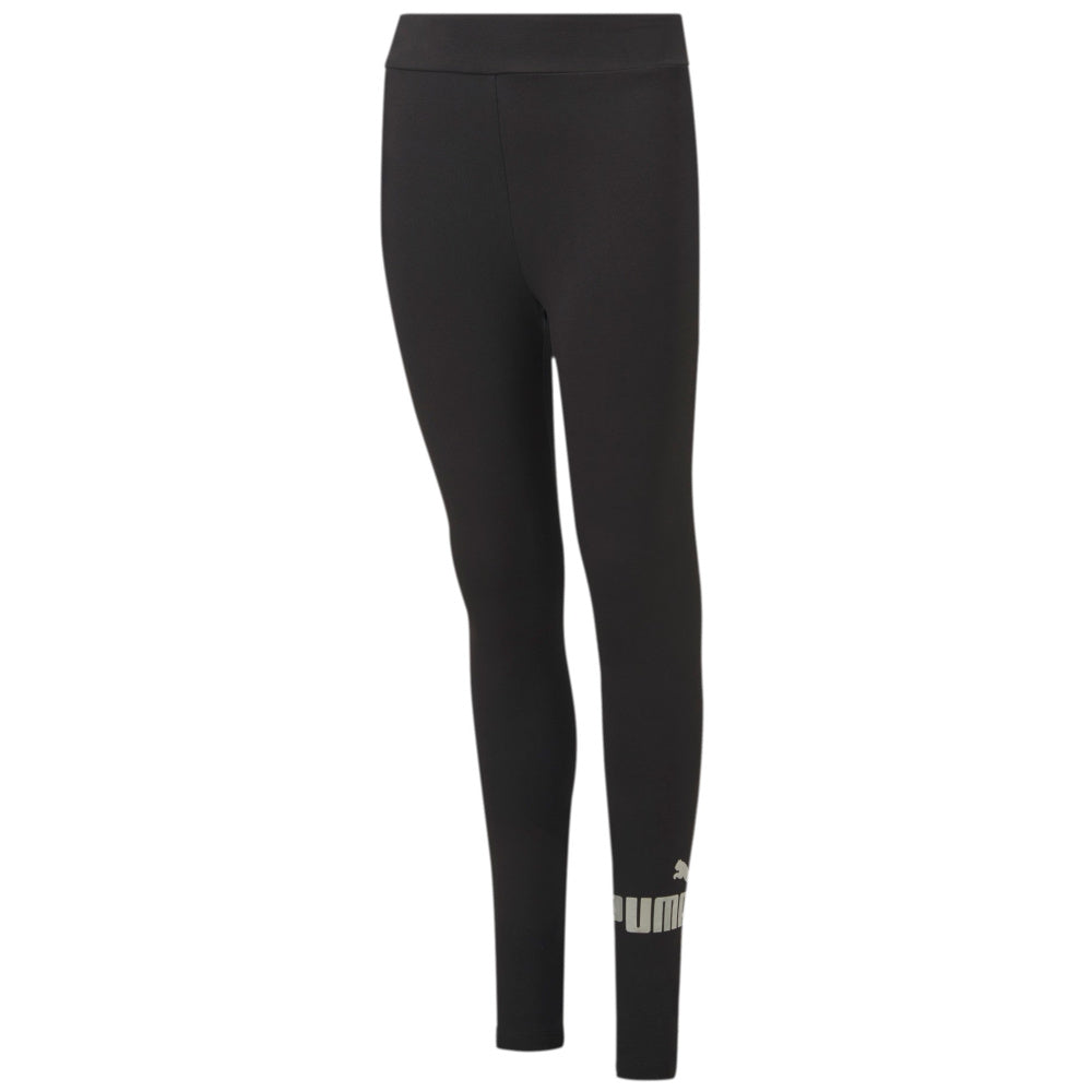 PUMA | GIRLS ESS+ LOGO LEGGINGS BLACK