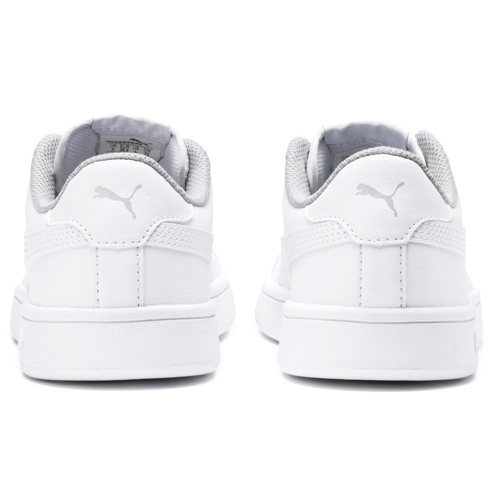 PUMA | KIDS PUMA SMASH V2 LEATHER WHITE