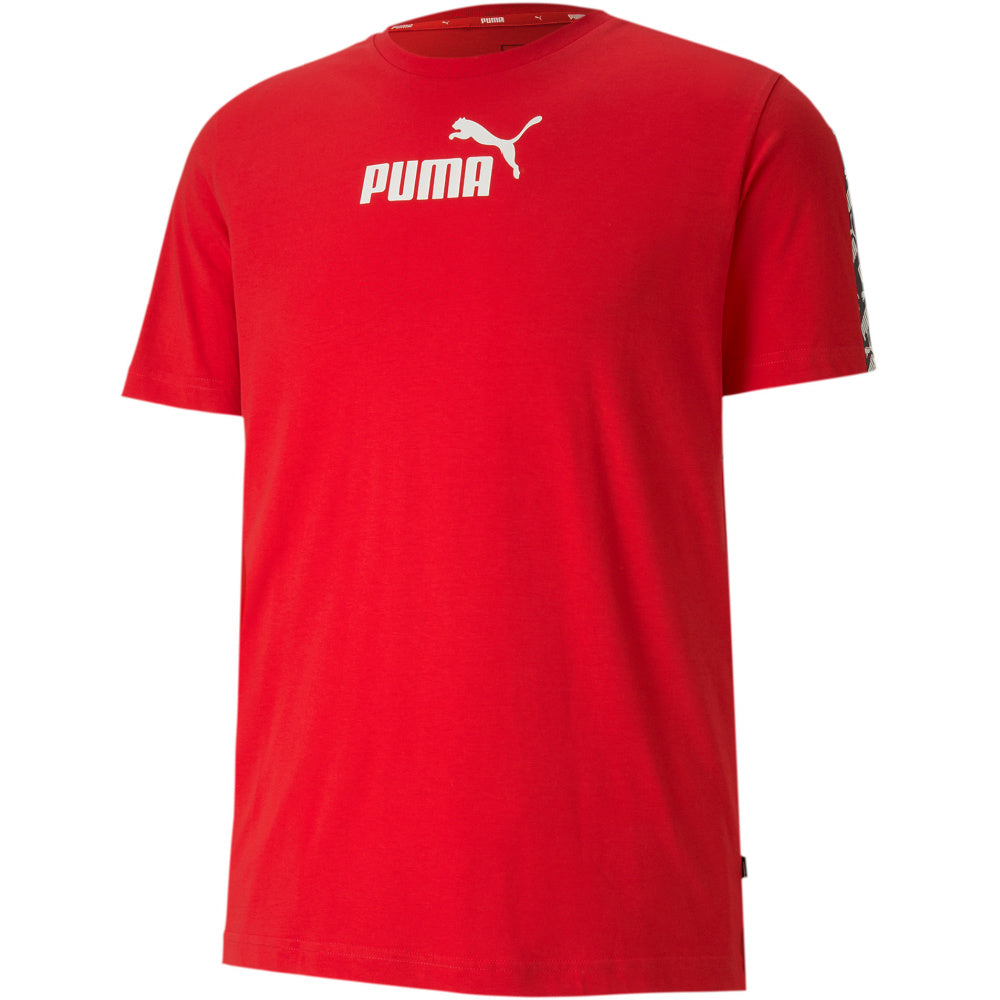 PUMA | MENS AMPLIFIED TEE RED
