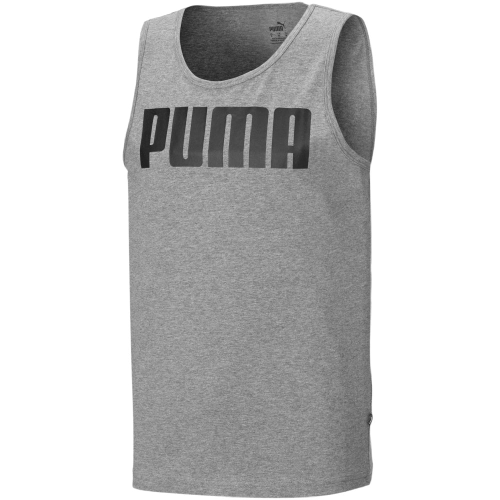 PUMA | MENS ESSENTIAL TANK GREY