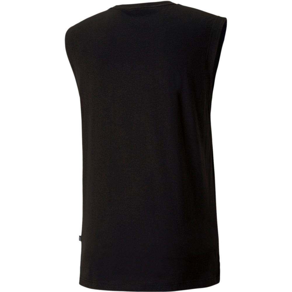 PUMA | MENS ESSENTIALS+ SLEEVELESS SHIRT BLACK