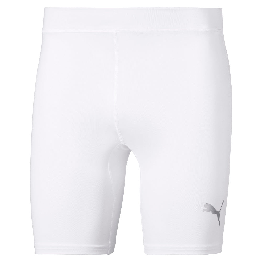 PUMA | MENS LIGA BASELAYER SHORT TIGHT WHITE