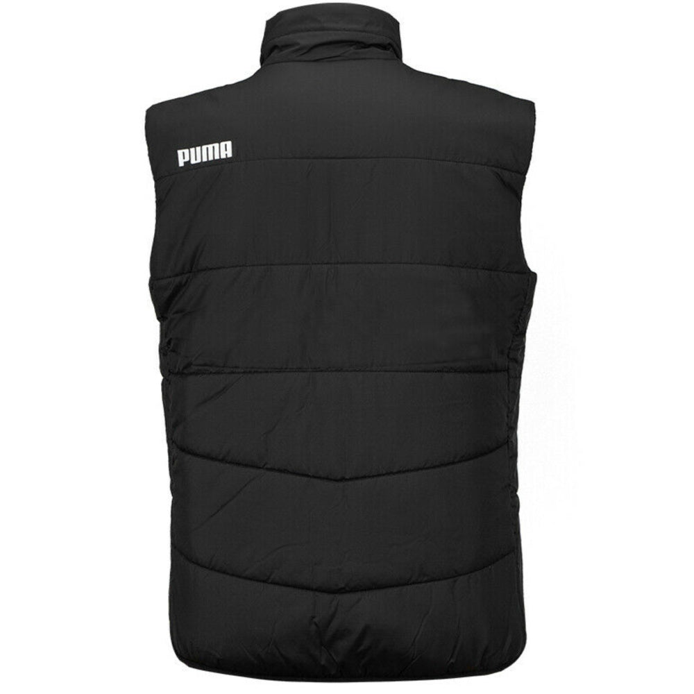 PUMA | MENS LIGA CASUAL PADDED VEST BLACK