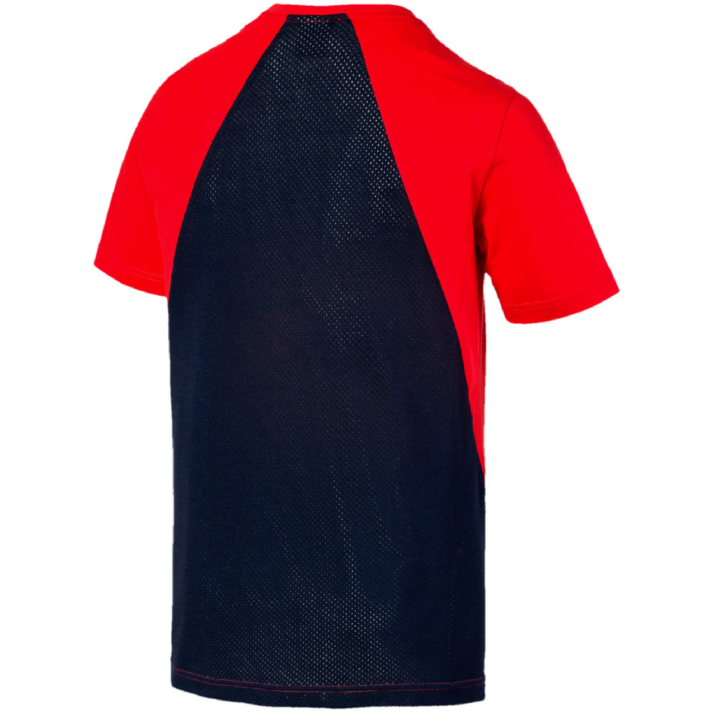 PUMA | MENS MODERN SPORTS ADVANCED TEE RED