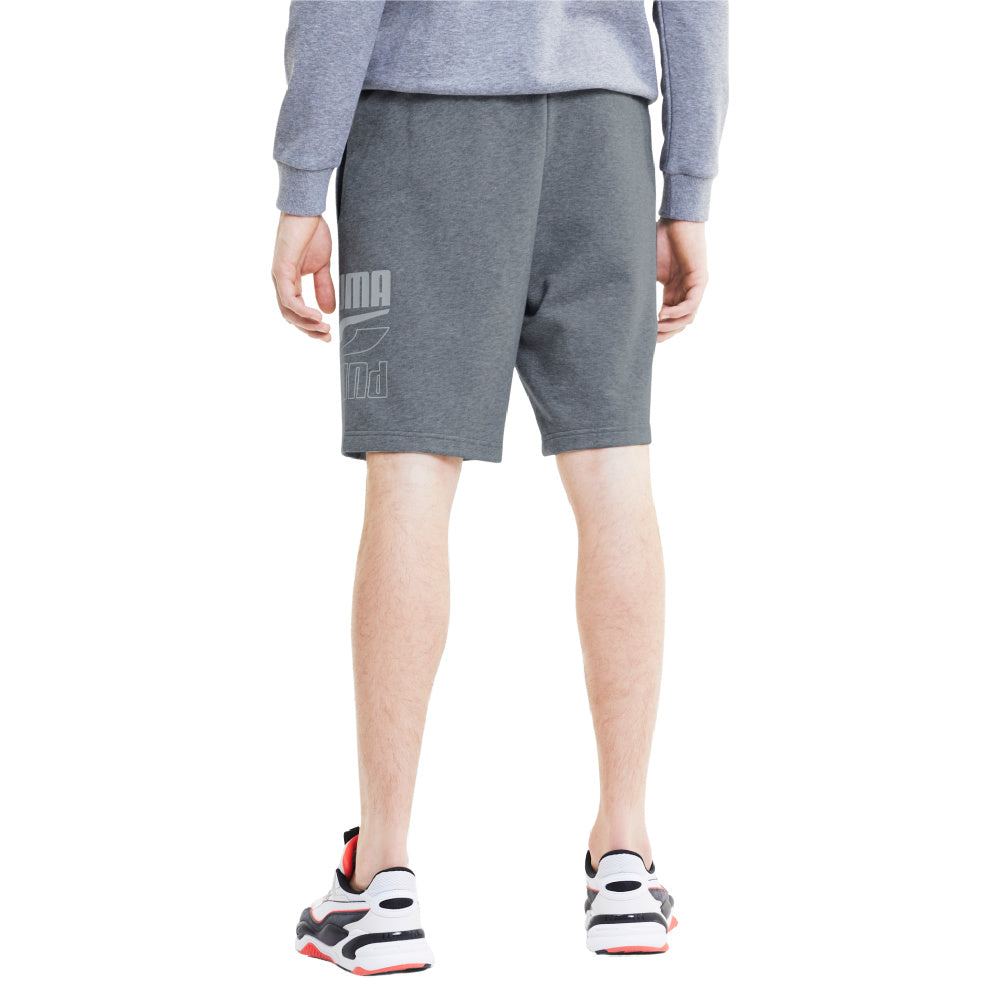 PUMA | MENS REBEL SHORTS 9' TR GREY