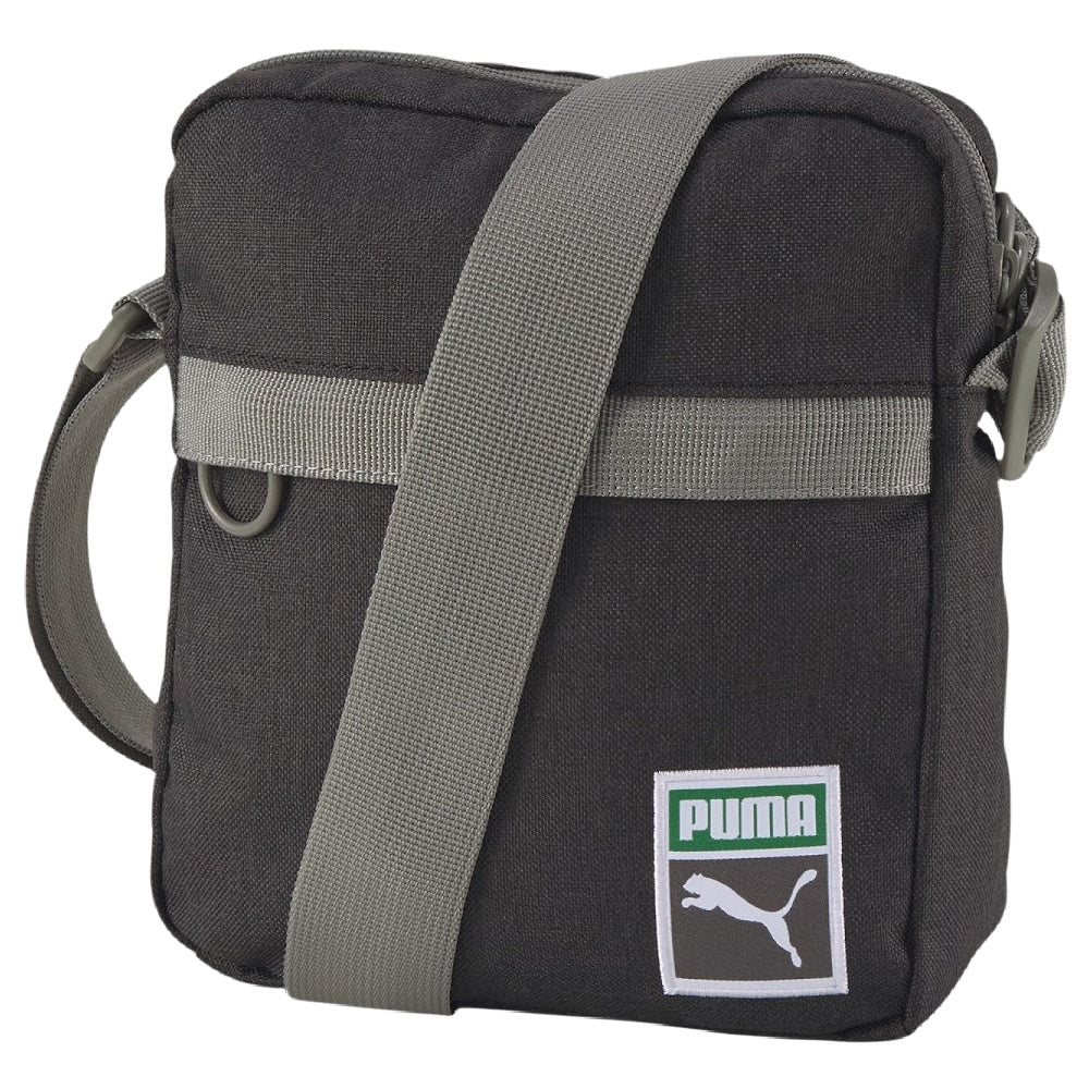 PUMA | ORIGINALS RETRO PORTABLE SHOULDER BAG OSFA BLACK