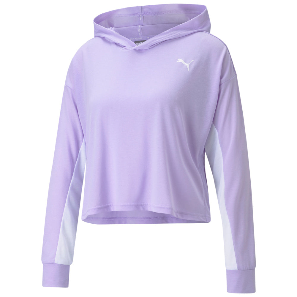 PUMA | WOMENS MODERN SPORTS LIGHTWEIGHT HOODIE (LIGHT LAVENDER)