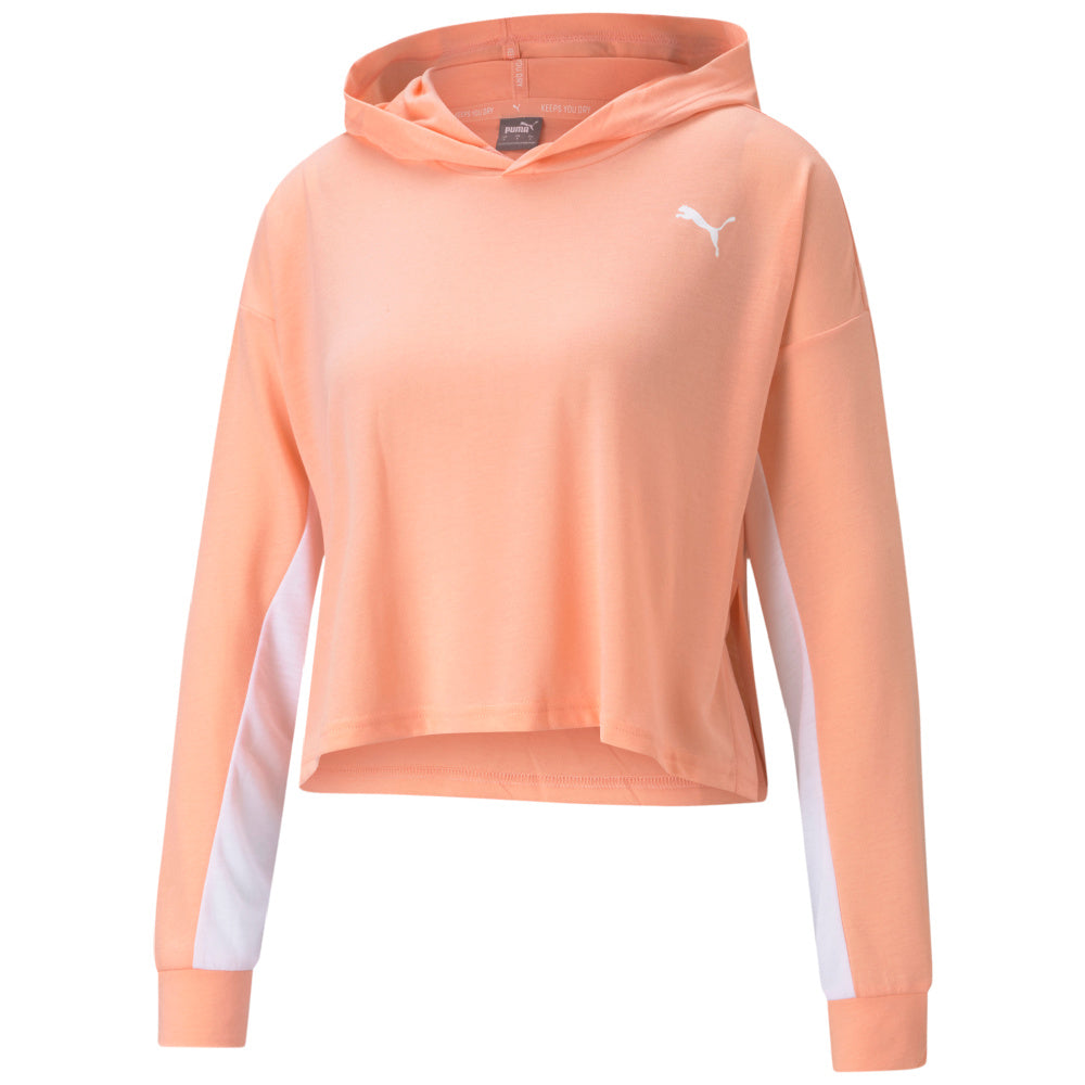 PUMA | WOMENS MODERN SPORTS LIGHTWEIGHT HOODIE (APRICOT BLUSH)