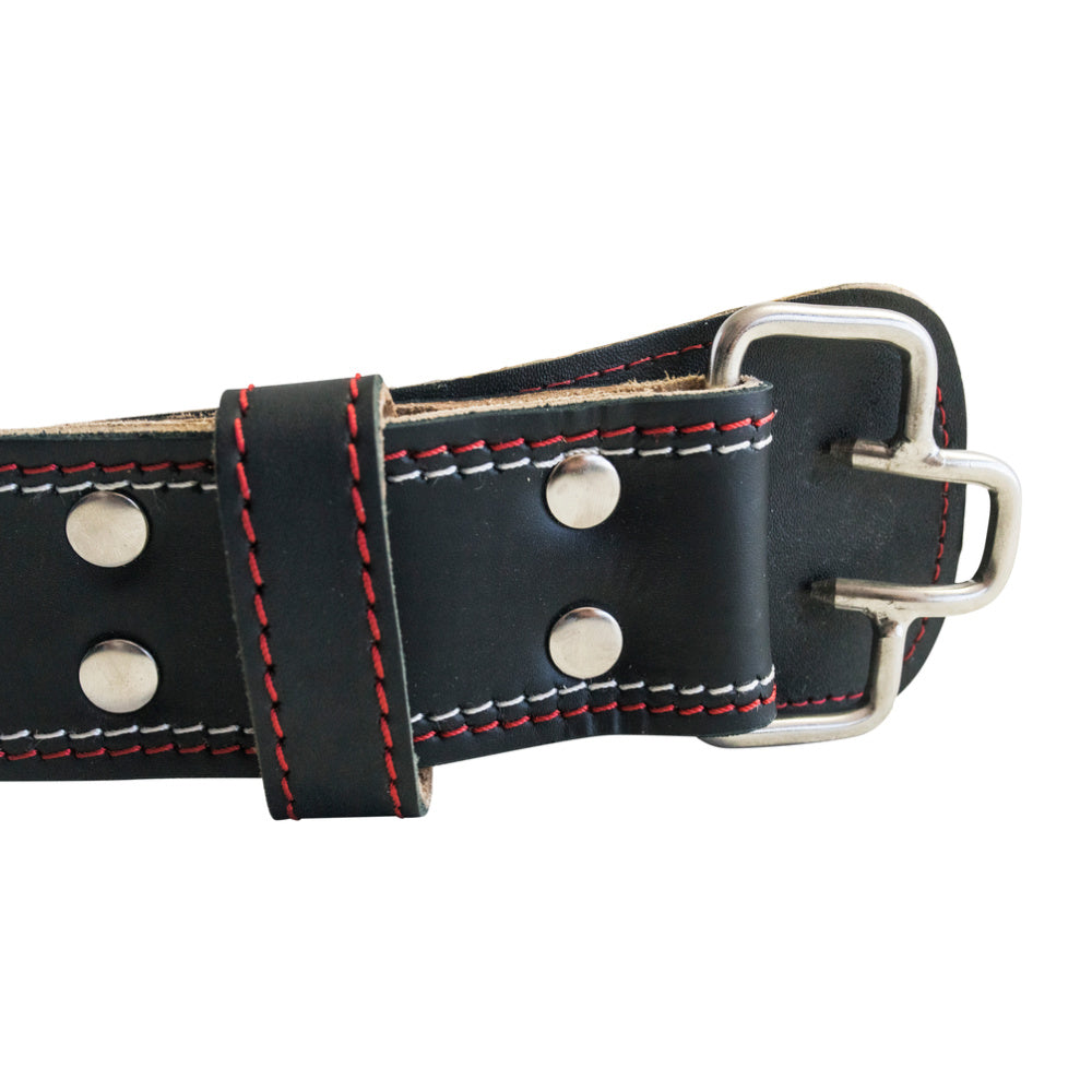 "RAPPD | WEIGHT LIFTING BELT 4"" PRO SERIES LEATHER (BLACK)"