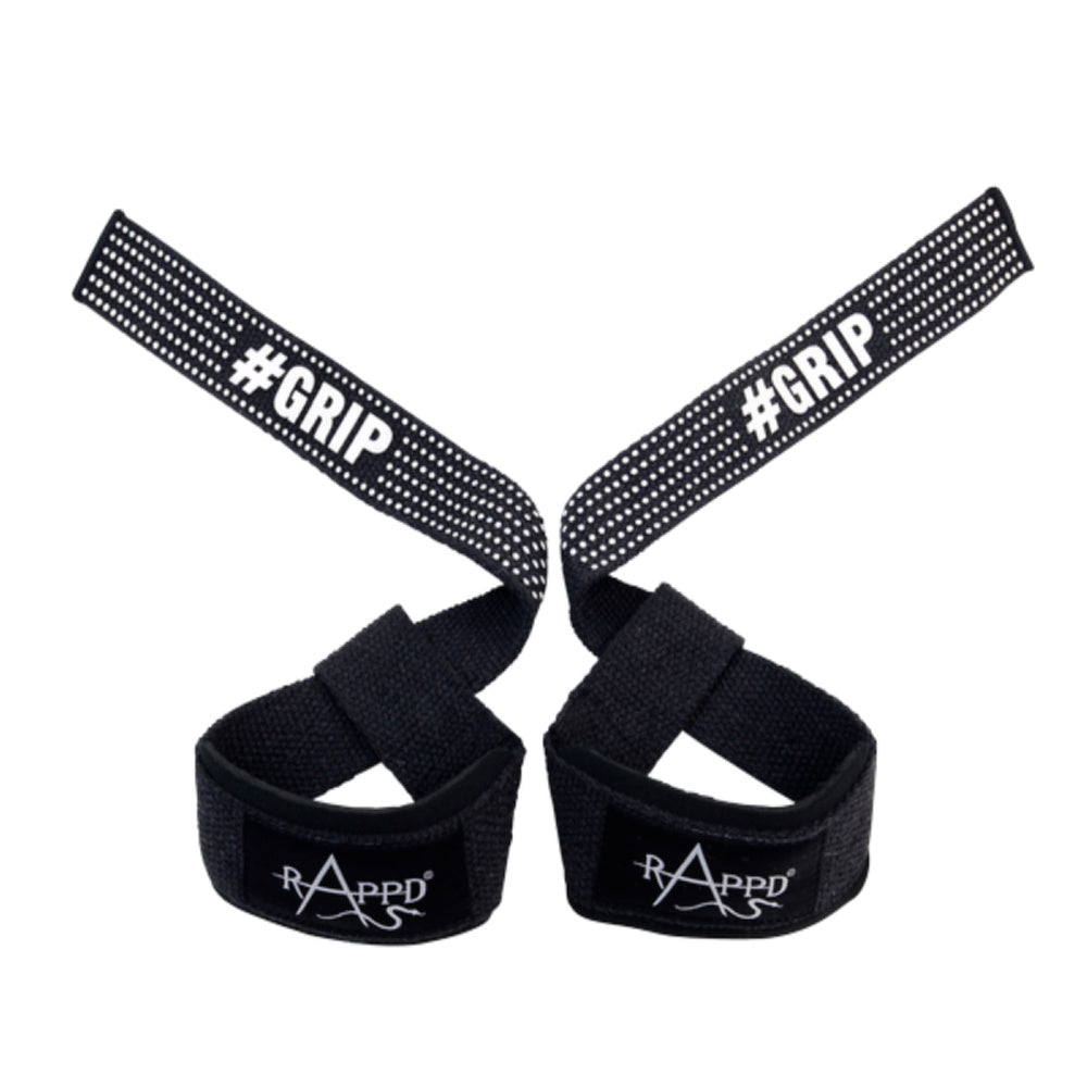 RAPPD | LIFTING STRAPS SINGLE LOOP (BLACK)
