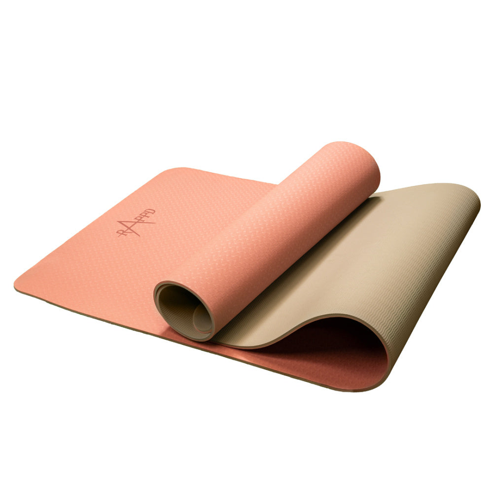 RAPPD | YOGA/EXERCISE TPE MAT 6MM
