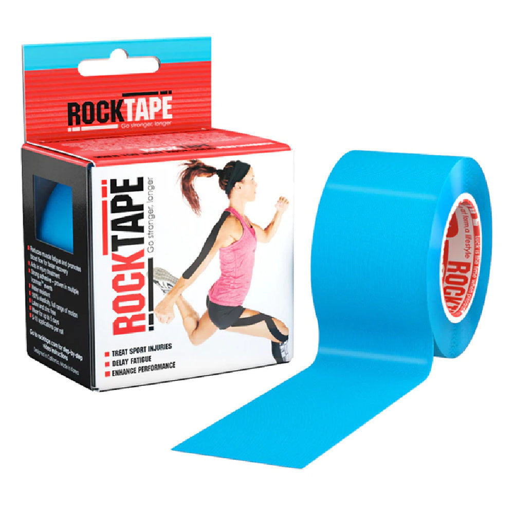ROCKTAPE | STANDARD 5CM X 5M LIGHT BLUE